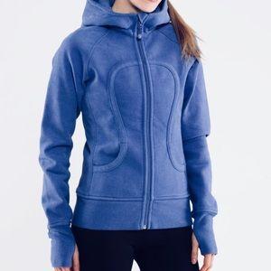 Lululemon scuba hoodie size 8. Blue